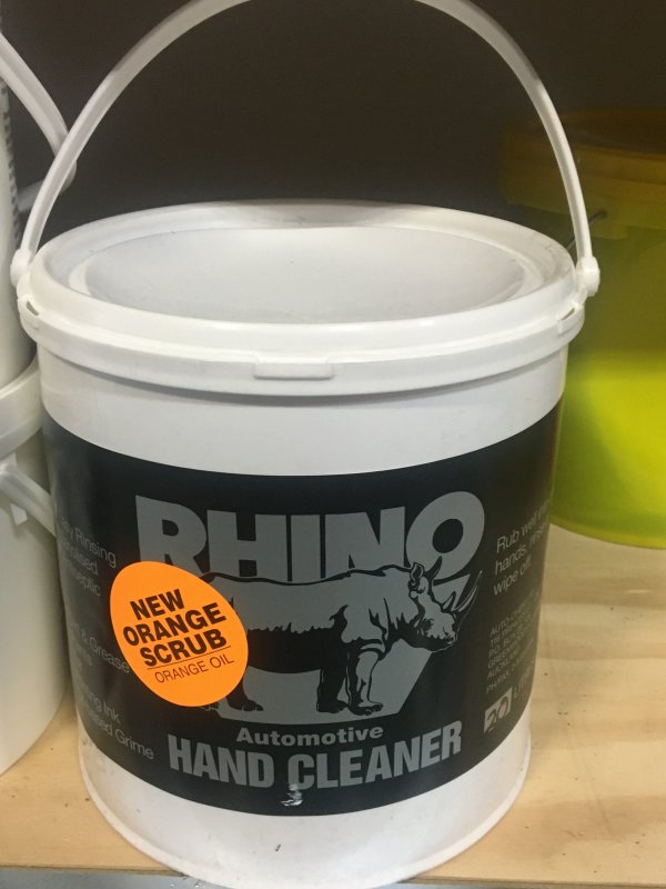 RH Rhino Orange Scrub Handcleaner - 4L